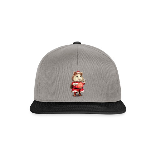 SANTA HAMSTER - Snapback Cap