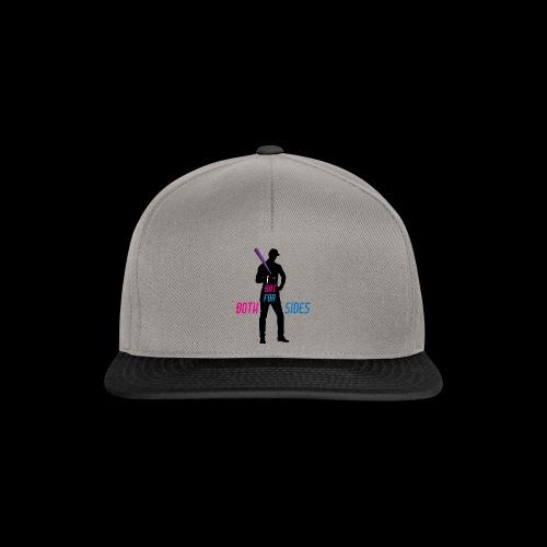 I bat for both sides male - Snapback Cap