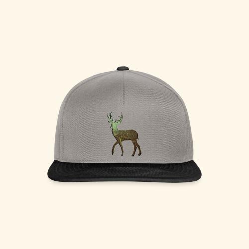 Forest - Deer silhouette - Snapback Cap