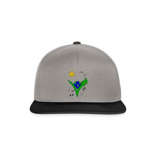 Ein Logo geht um die Welt - Snapback Cap