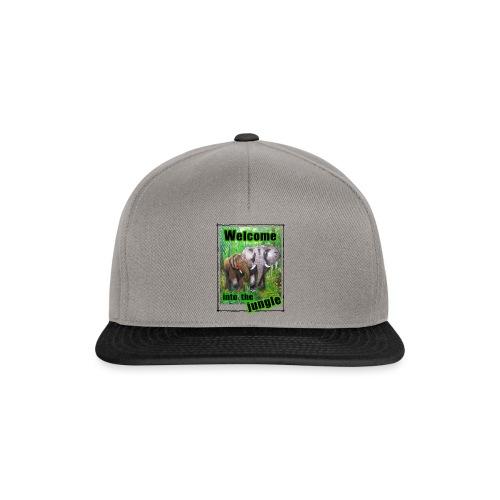 Willkommen im Dschungel - Snapback Cap