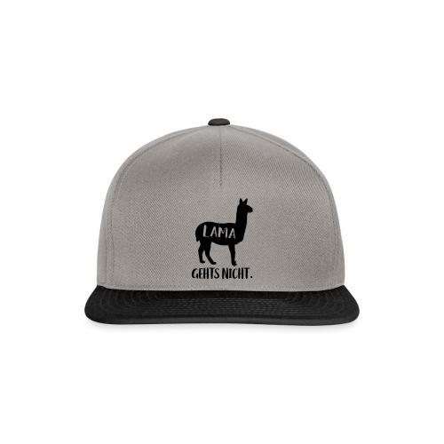 Lustiger Langsam Sport Lama Tier Spruch - Snapback Cap