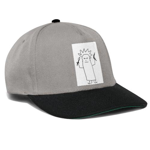 The Crazy Ghost - Snapback Cap
