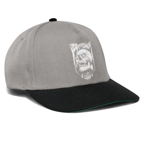 Jogstonica Skull White - Snapback Cap