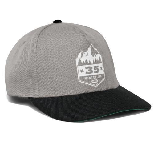 35 ✕ WINTERTRIP ✕ 2021 - Snapback cap