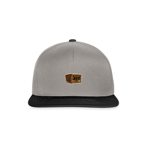 Jet Cartoon Wood Box - Snapback Cap