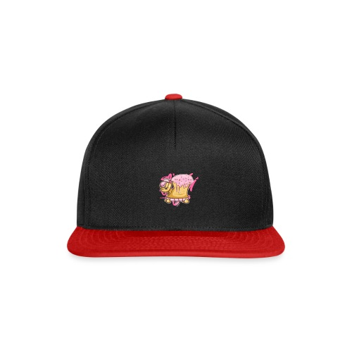 Donut Turtle Doughnut - Snapback Cap