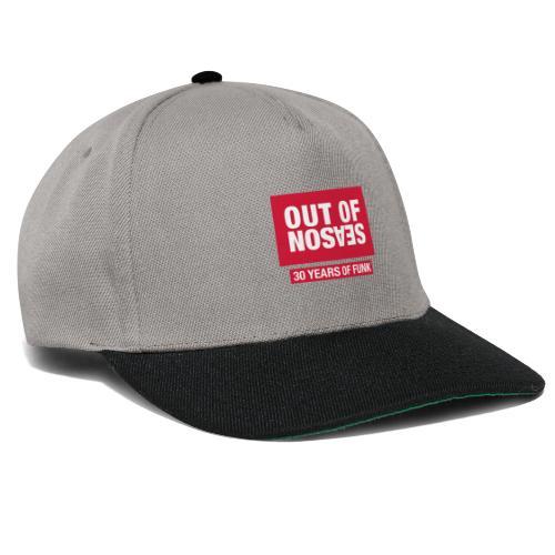 OOS RED - Snapback Cap