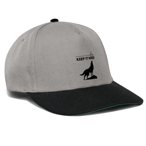 Keep it wild - Snapback Cap