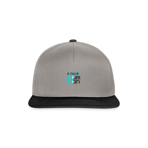 Confused Human - Snapback Cap