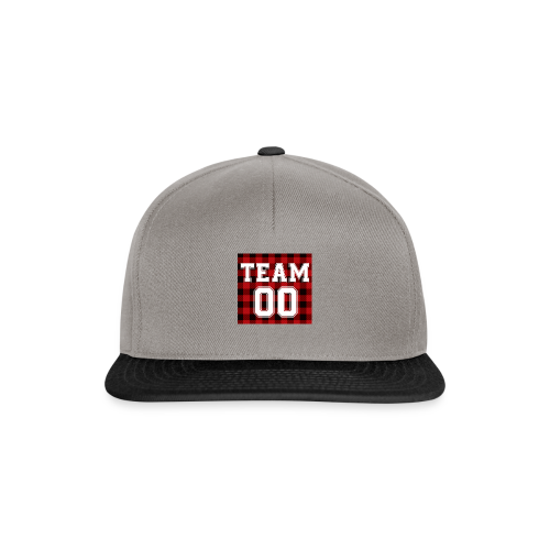 TEAM 00 T-shirt White - Snapback cap