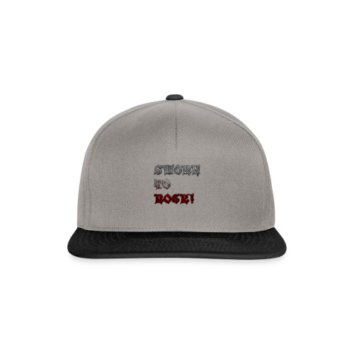 SWORN TO ROCK CLOTHING AND ACCESORIES - Snapback Cap