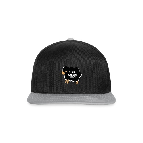 Think of your own idea! - Snapback Cap