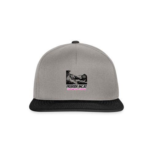 Mountainbikerin Freeride Inc. Austria Petra - Snapback Cap