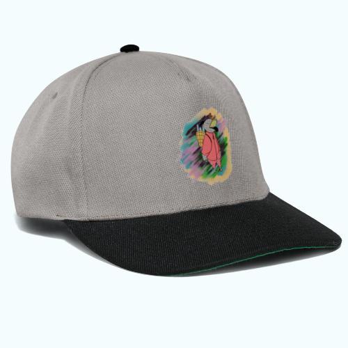 80s Comic Style Graffiti - Snapback Cap