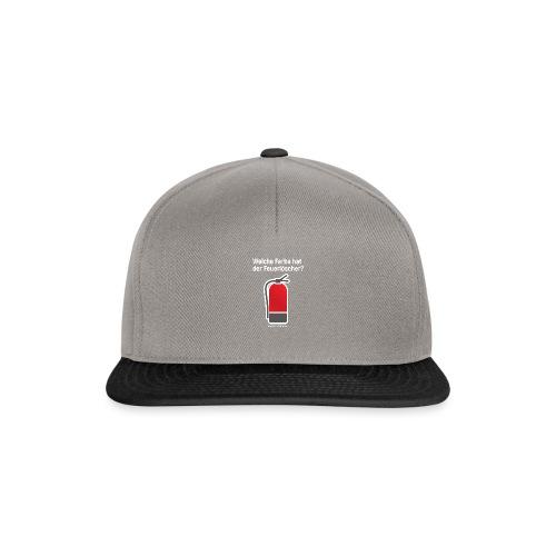 Feuerlöscher rot - Snapback Cap
