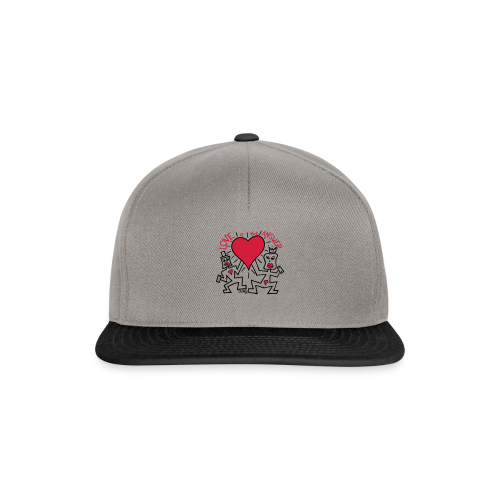Love is the Answer by Oliver Schibli - Snapback Cap
