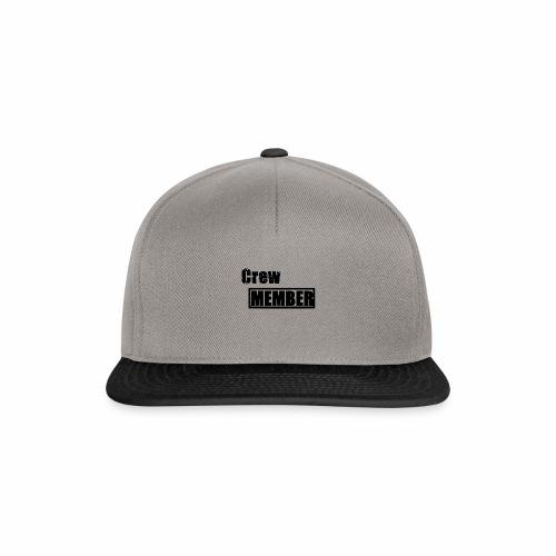crew member - Snapback Cap
