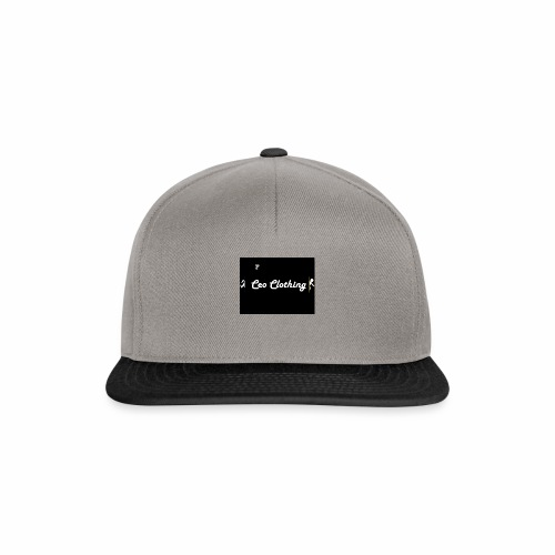 Ceo Clothing Logo - Snapback cap
