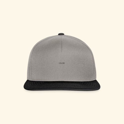 Simple Grey - Gorra Snapback