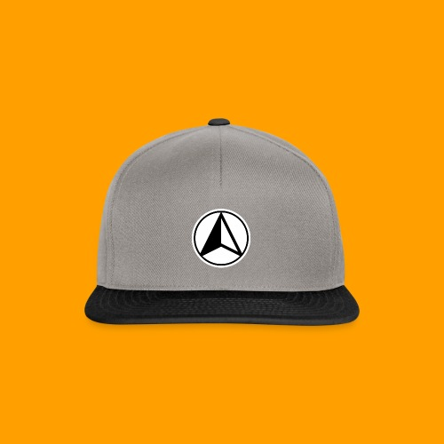Black and White logo - Snapback Cap