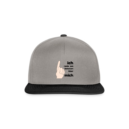 Ich - Snapback Cap