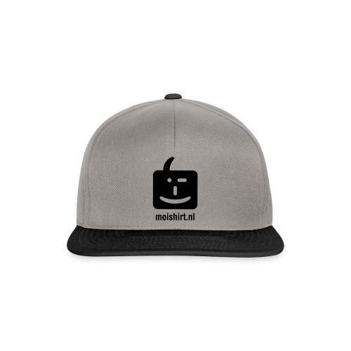 moi shirt back - Snapback cap