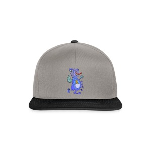 Blue Dragon - Snapback Cap