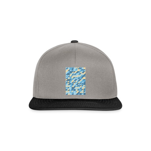Triangle Design - Snapback Cap