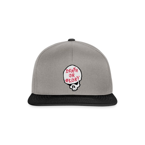 1 Death or Glory - Snapback Cap