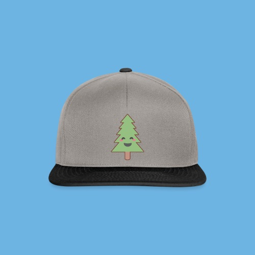 Kawaii Christmas Tree - Snapback Cap
