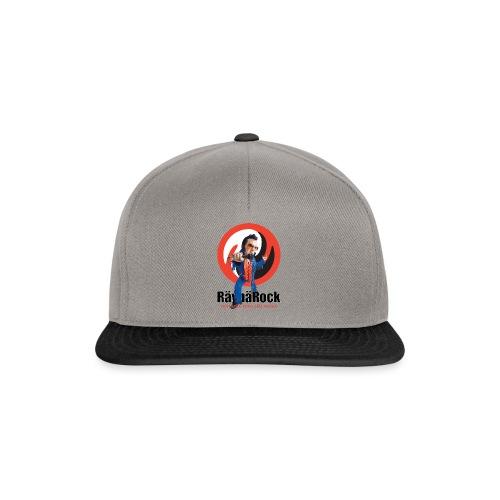 Räyhärock valkoinen - Snapback Cap