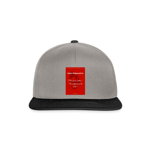 Association Nationale des aides soignant e s de fr - Casquette snapback
