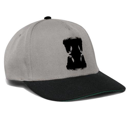 Cheval cabré en ombres chinoise - Casquette snapback