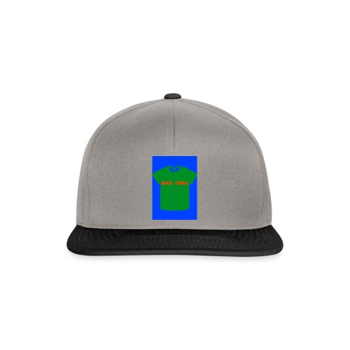 Bike Crew Merch (grün) - Snapback Cap