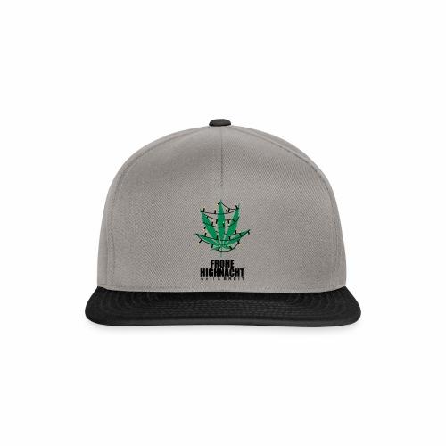 Frohe Highnacht Weihnachten Xmas Fun Hanf Cannabis - Snapback Cap