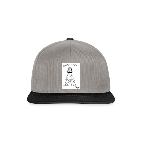 Pupy: summer time! - girl - Snapback Cap