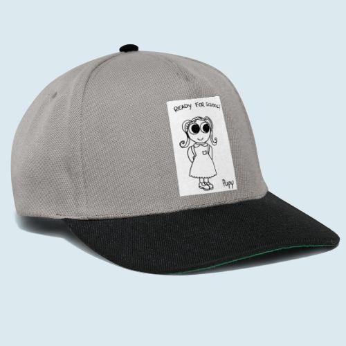 Pupy: ready for school! - girl - Snapback Cap