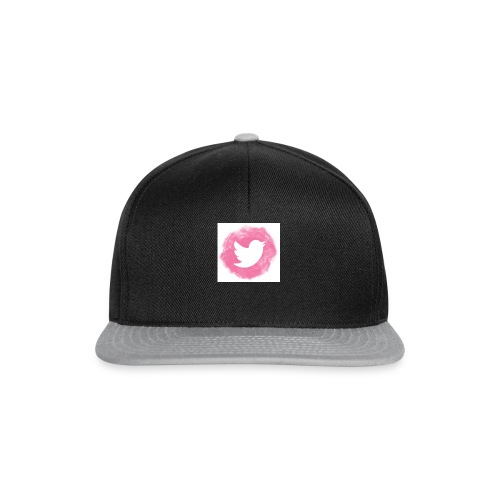 pink twitt - Snapback Cap