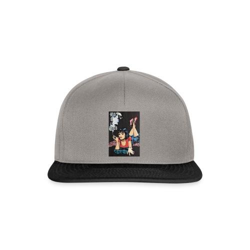 MIA WALLACE DRAWING - Snapback Cap