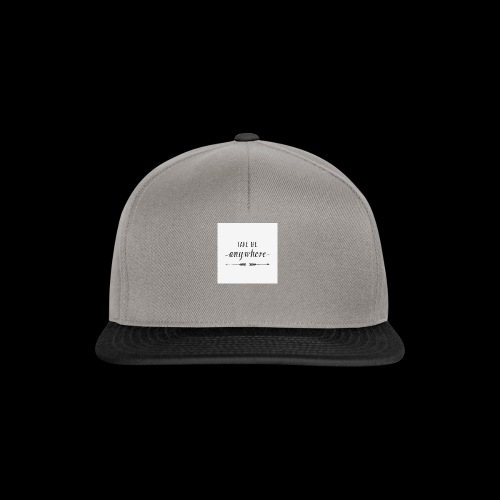 anywhere - Snapback Cap