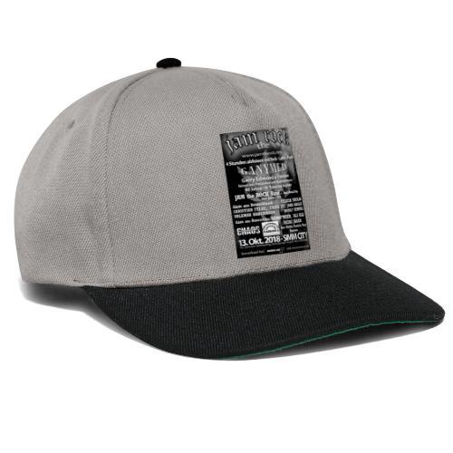 Plakat schwarz weiss - Snapback Cap