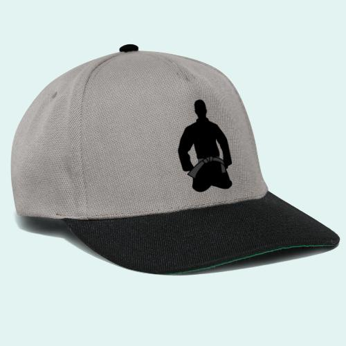 Judo Schwarzgurt - Snapback Cap