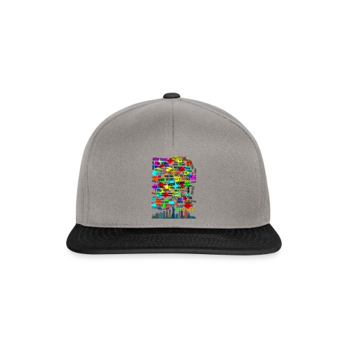 ny colors ny 03 - Snapback Cap