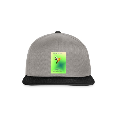 rainbow hummingbird - Snapback Cap