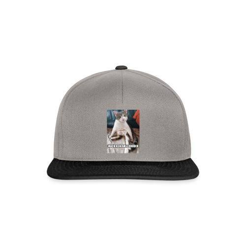 Mach kein Auge - Snapback Cap
