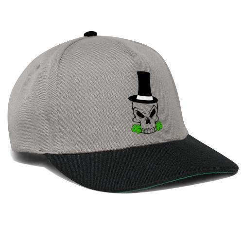 Leprechaun Skull - Snapback Cap