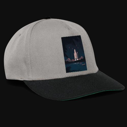 Ariane 5 - Launching By Tom Haugomat - Snapback Cap