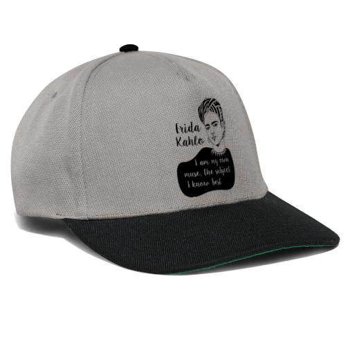 frida kahlo quote shirt - Snapback Cap