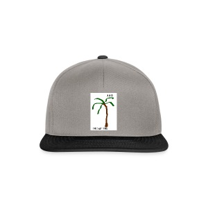 Draw-palm-brown-green - Snapbackkeps